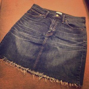 J. Crew Denim Skirt